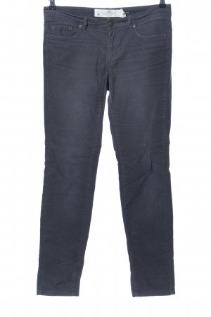 H&M L.O.G.G. Pantalon en velours côtelé gris clair style décontracté