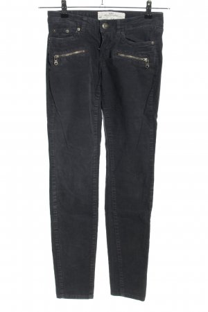 H&M L.O.G.G. Corduroy Trousers black casual look