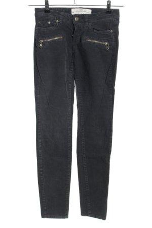 H&M L.O.G.G. Pantalón de pana negro look casual