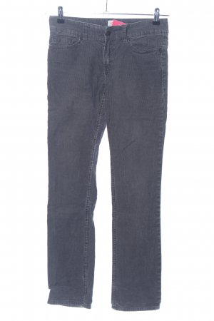 H&M L.O.G.G. Corduroy Trousers light grey casual look