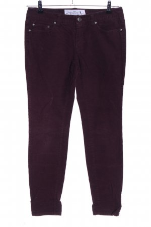 H&M L.O.G.G. Corduroy Trousers red casual look