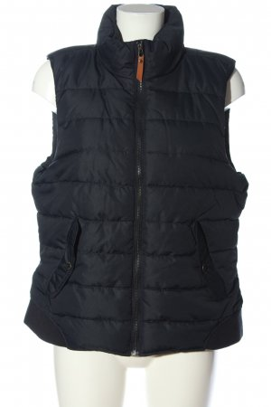 H&M L.O.G.G. Down Vest blue quilting pattern casual look