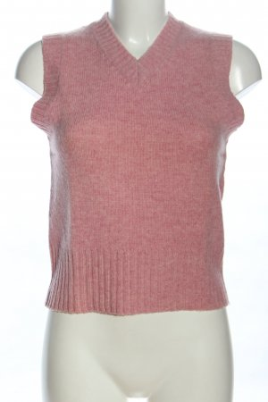 H&M L.O.G.G. Fine Knitted Cardigan pink flecked casual look