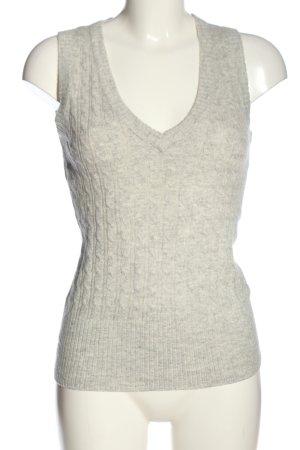 H&M L.O.G.G. Sweter bez rękawów z cienkiej dzianiny jasnoszary W stylu casual