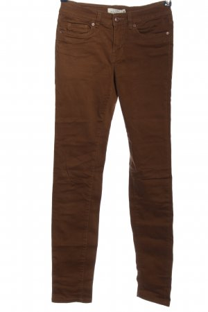 H&M L.O.G.G. Five-Pocket-Hose braun Casual-Look