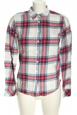H&M L.O.G.G. Flannel Shirt allover print casual look