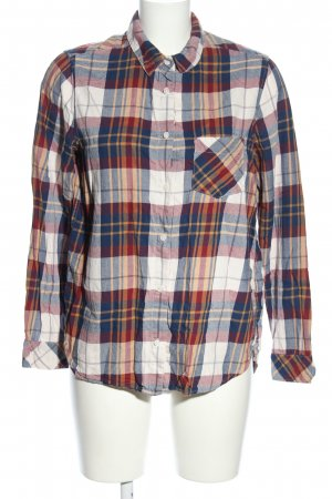 H&M L.O.G.G. Flannel Shirt check pattern casual look