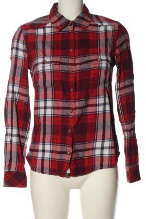 H&M L.O.G.G. Camisa de franela estampado a cuadros look casual