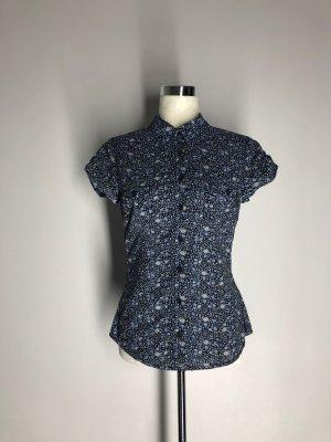 H&M L.O.G.G. florale Kurzarm-Bluse