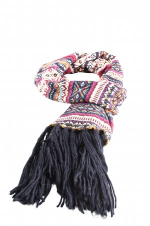 H&M L.O.G.G. Fringed Scarf allover print casual look