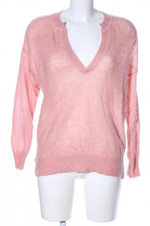 H&M L.O.G.G. Grobstrickpullover pink Casual-Look