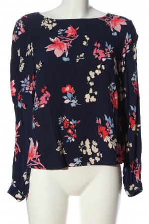 H&M L.O.G.G. Hemd-Bluse Allover-Druck Casual-Look