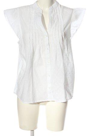 H&M L.O.G.G. Hemd-Bluse weiß Casual-Look