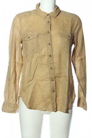 H&M L.O.G.G. Hemd-Bluse nude Casual-Look