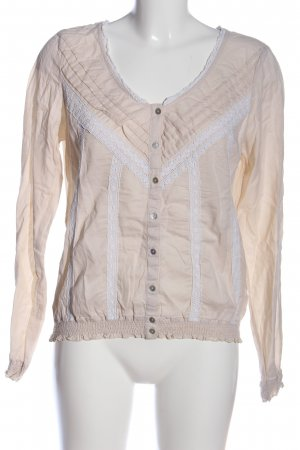 H&M L.O.G.G. Hemd-Bluse creme-weiß Casual-Look