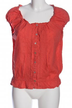H&M L.O.G.G. Hemd-Bluse rot Casual-Look