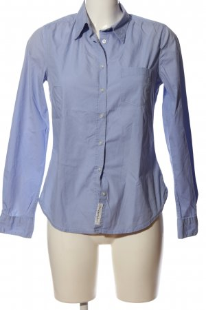 H&M L.O.G.G. Hemd-Bluse blau Business-Look