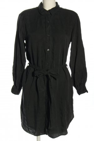 H&M L.O.G.G. Hemdblusenkleid schwarz Casual-Look