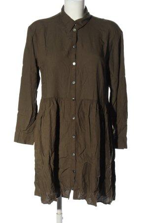 H&M L.O.G.G. Abito blusa camicia marrone stile casual