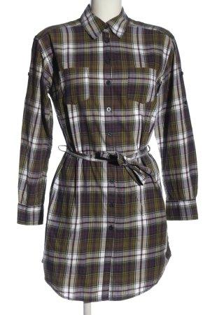 H&M L.O.G.G. Abito blusa camicia motivo a quadri stile casual