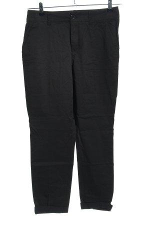 H&M L.O.G.G. High-Waist Hose schwarz Casual-Look