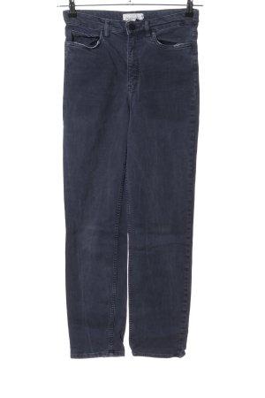 H&M L.O.G.G. High Waist Jeans blau Casual-Look