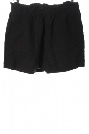 H&M L.O.G.G. High-Waist-Shorts schwarz Casual-Look