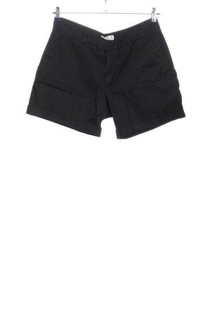 H&M L.O.G.G. Pantalón corto de talle alto negro look casual
