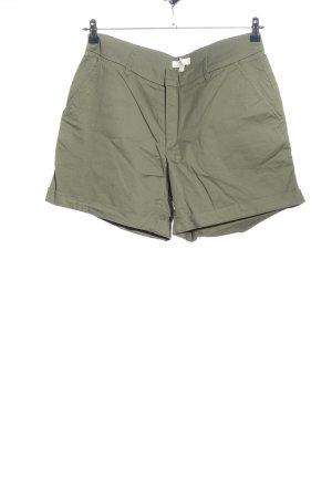 H&M L.O.G.G. High-Waist-Shorts khaki Casual-Look