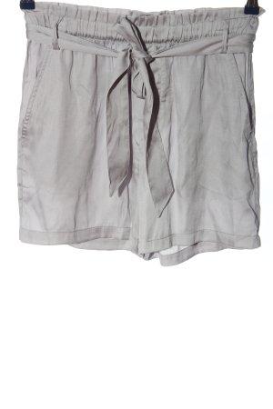 H&M L.O.G.G. High-Waist-Shorts hellgrau Casual-Look