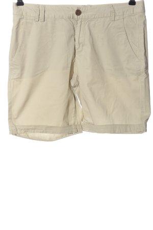 H&M L.O.G.G. High-Waist-Shorts wollweiß Casual-Look