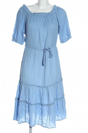 H&M L.O.G.G. Robe Hippie bleu style décontracté