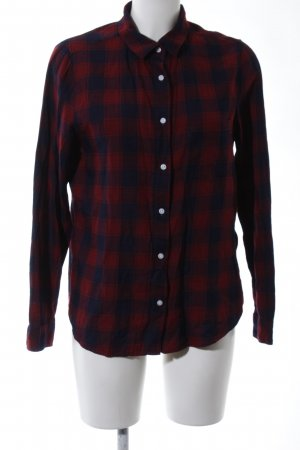 H&M L.O.G.G. Houthakkershemd rood-blauw geruite print casual uitstraling