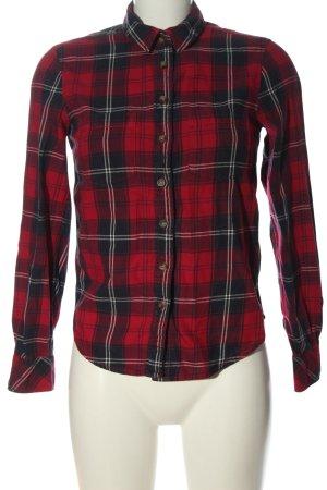 H&M L.O.G.G. Koszula w kratę czerwony-niebieski Wzór w kratkę W stylu casual