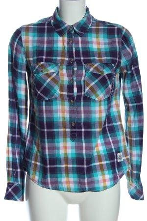 H&M L.O.G.G. Camisa de leñador estampado repetido sobre toda la superficie