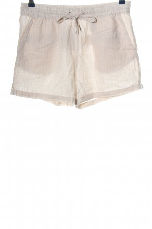 H&M L.O.G.G. Hot Pants creme-weiß Allover-Druck Casual-Look