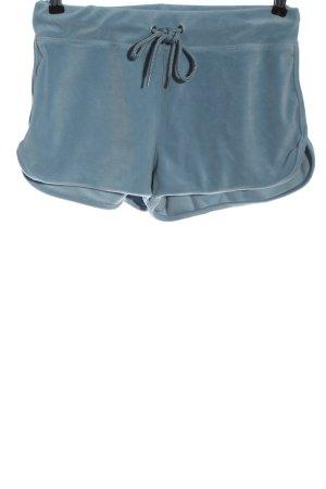 H&M L.O.G.G. Hot Pants blau Casual-Look