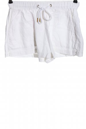 H&M L.O.G.G. Hot Pants weiß Casual-Look
