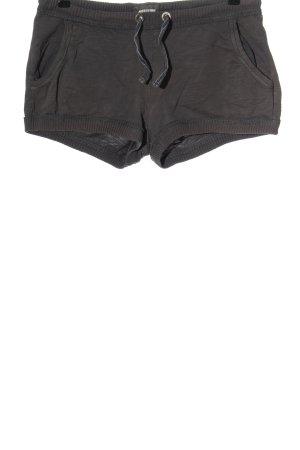 H&M L.O.G.G. Hot Pants hellgrau meliert Casual-Look