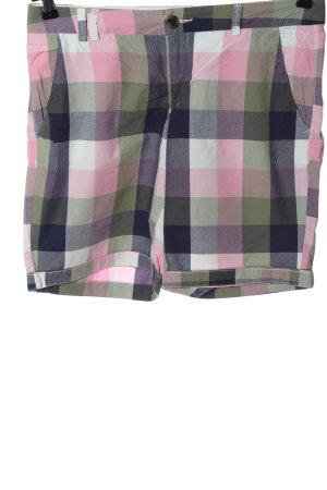 H&M L.O.G.G. Hot Pants Karomuster Casual-Look