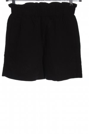 H&M L.O.G.G. Hot Pants schwarz meliert Casual-Look