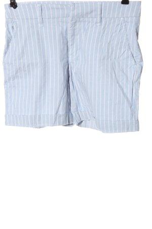 H&M L.O.G.G. Hot Pants blau Allover-Druck Casual-Look