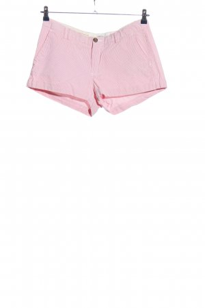 H&M L.O.G.G. Hot Pants pink-weiß Allover-Druck Casual-Look
