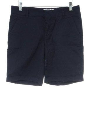H&M L.O.G.G. Hot Pants dunkelblau Casual-Look