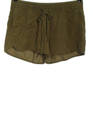 H&M L.O.G.G. Hot Pants khaki Casual-Look