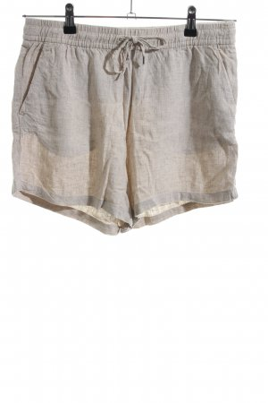 H&M L.O.G.G. Hot Pants wollweiß Webmuster Casual-Look