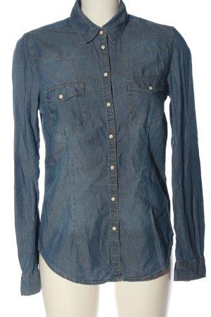H&M L.O.G.G. Camicia denim blu stile casual