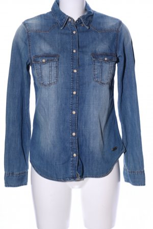 H&M L.O.G.G. Denim Shirt blue casual look