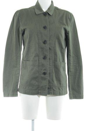 H&M L.O.G.G. Jeanshemd grüngrau schlichter Stil