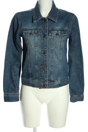 H&M L.O.G.G. Jeansjacke blau Casual-Look